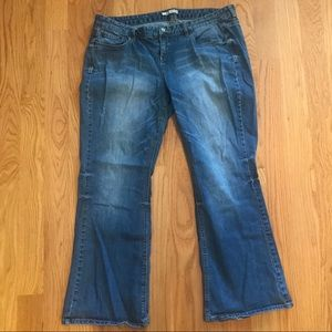 Maurices Bootcut Jeans size 20